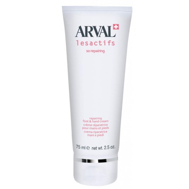 Arval Lesactifs So Reparing foot  hand cream crema riparatrice mani e piedi 75 ml