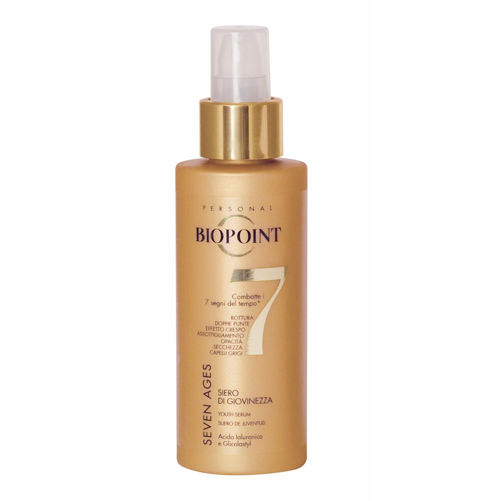 Biopoint Seven Ages siero di giovinezza per capelli 125 ml