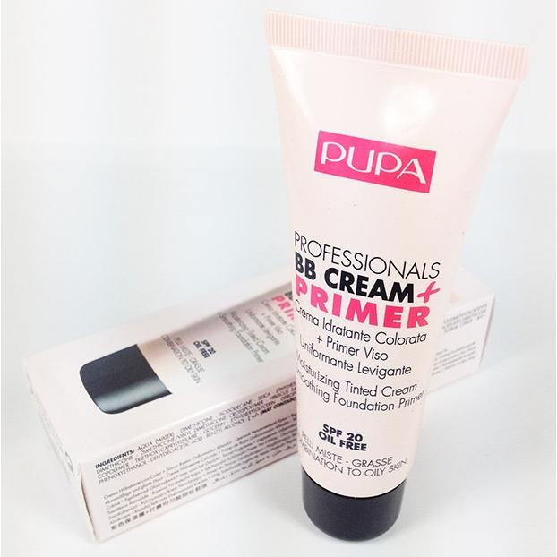 Pupa Professionals BB Cream  Primer pelli miste grasse spf 20 n 001 Nude