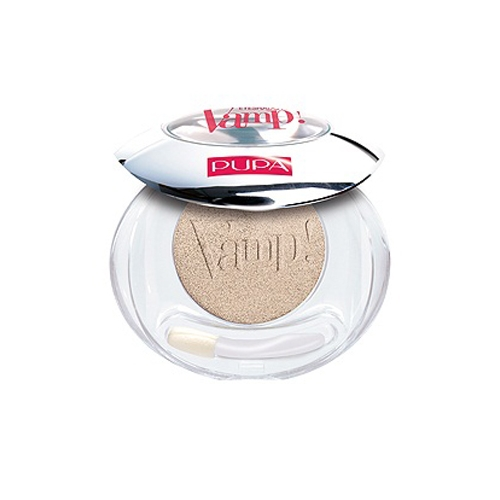 Pupa Vamp Compact Eyeshadow ombretto compatto colore puro n 402 Ivory Metallic