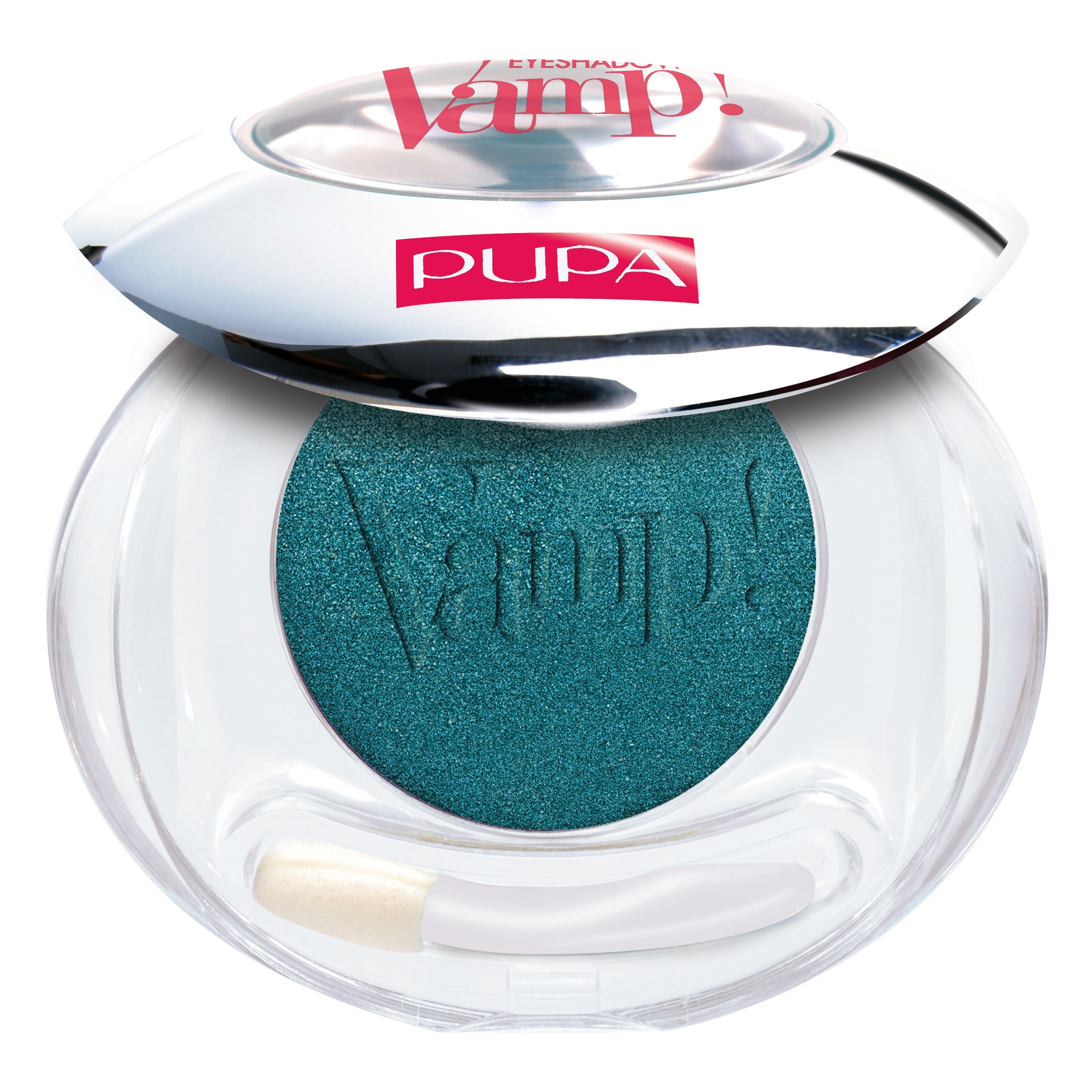 Pupa Vamp Compact Eyeshadow ombretto compatto colore puro n 304 Tropical Green Satin