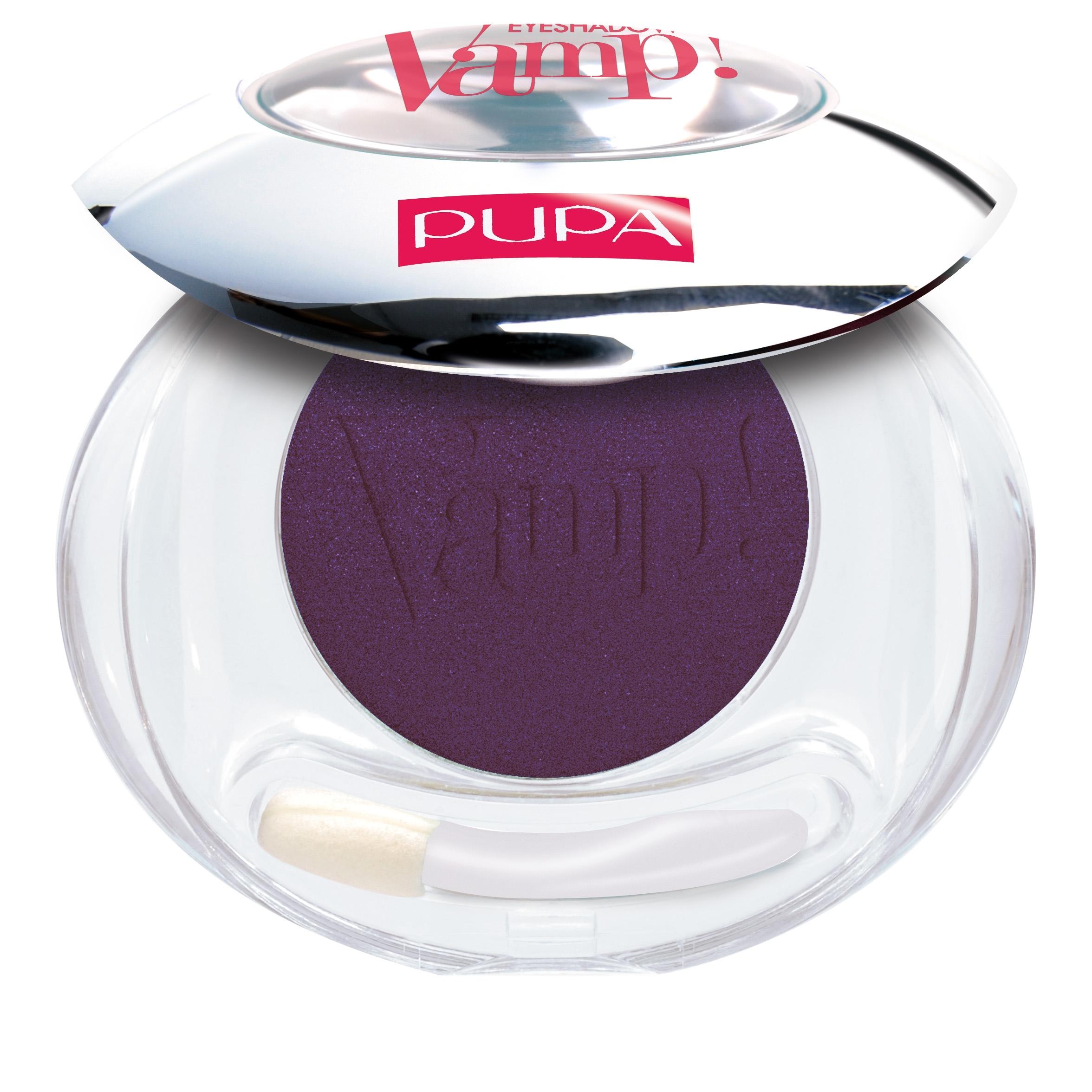 Pupa Vamp Compact Eyeshadow ombretto compatto colore puro n204 Black Aubergine