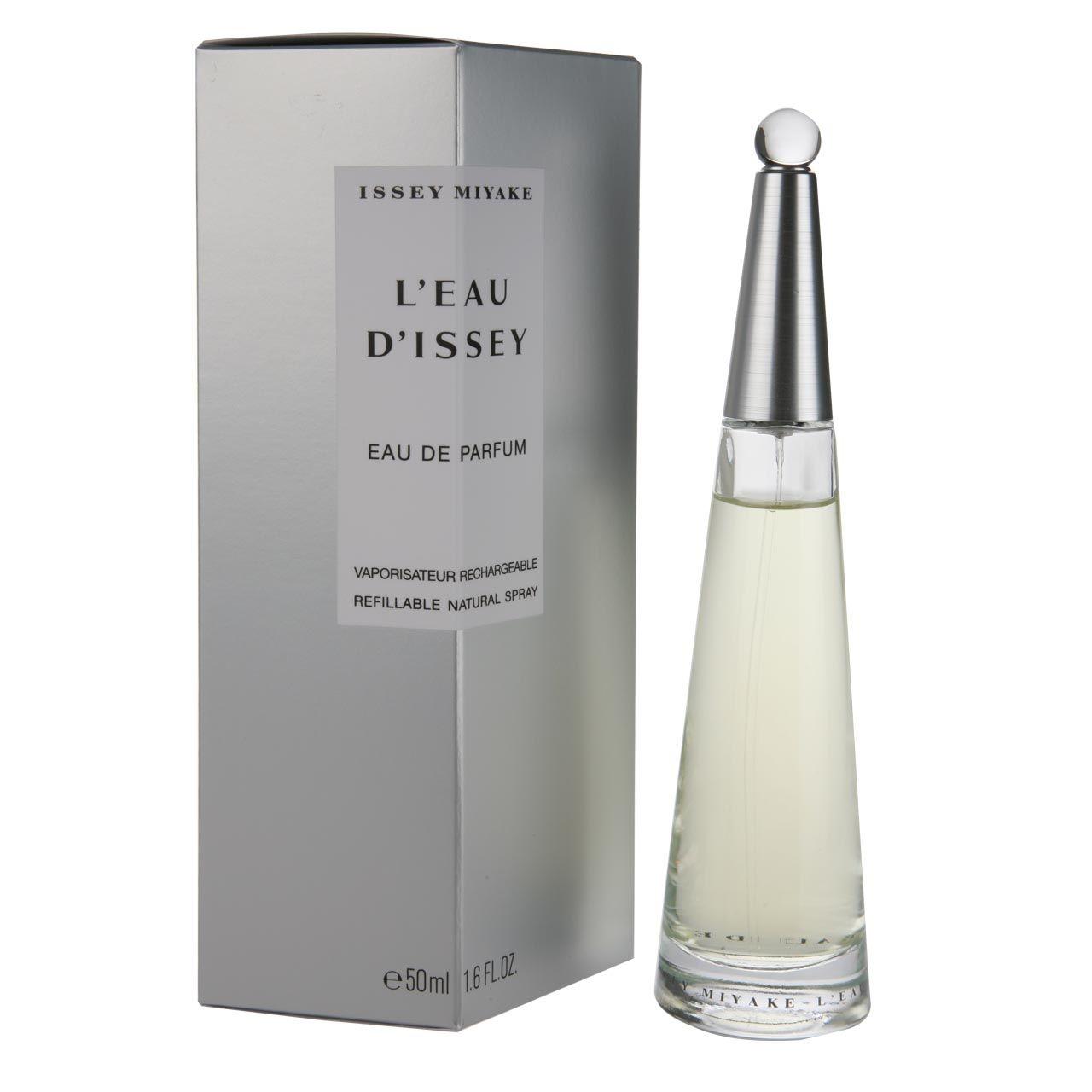 Leau dIssey eau de parfum ricaricabile spray donna 50 ml
