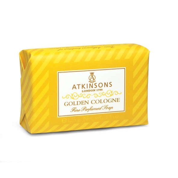 Atkinsons Fine Parfumed Soap sapone profumato Golden Cologne 200 gr