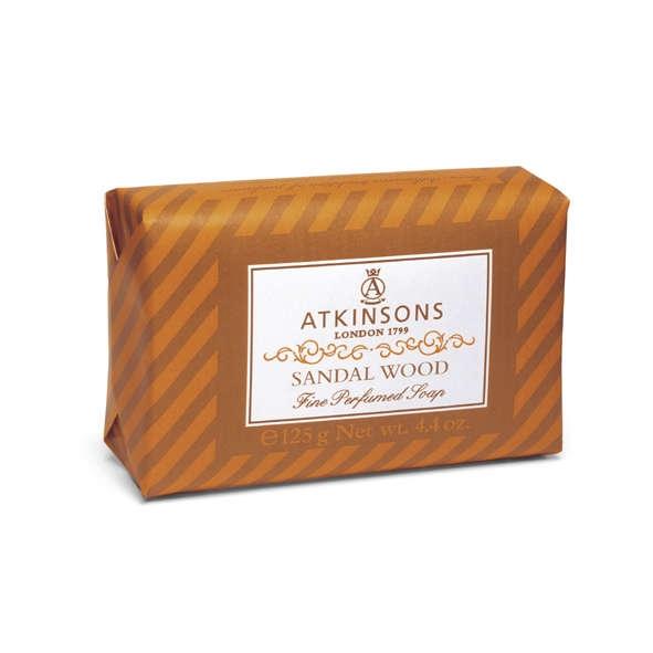 Atkinsons Fine Parfumed Soap sapone profumato Sandal Wood 200 gr