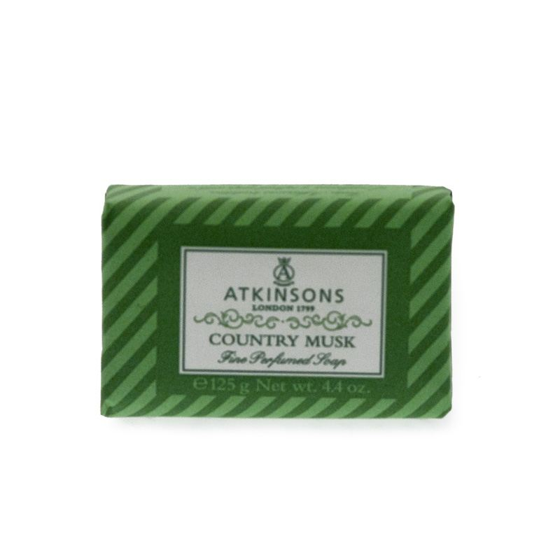 Atkinsons Fine Parfumed Soap sapone profumato Country Musk 200 gr