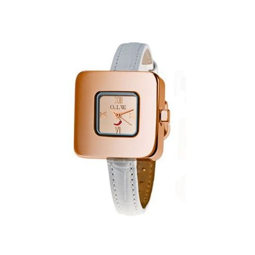 Orologio donna OIW GEOMETRIC SQUARE ROUND ROSEGOLD GEOM SQUARE ROU RG