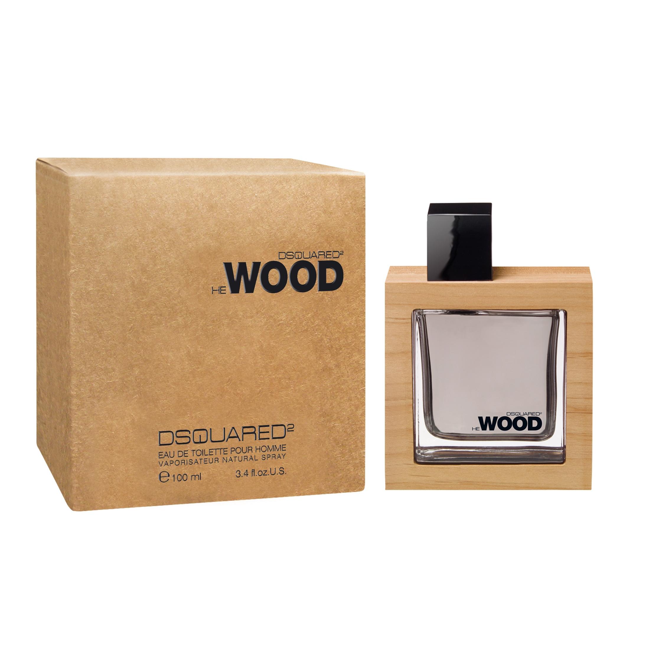 Dsquared He Wood edt uomo 100 ml spray