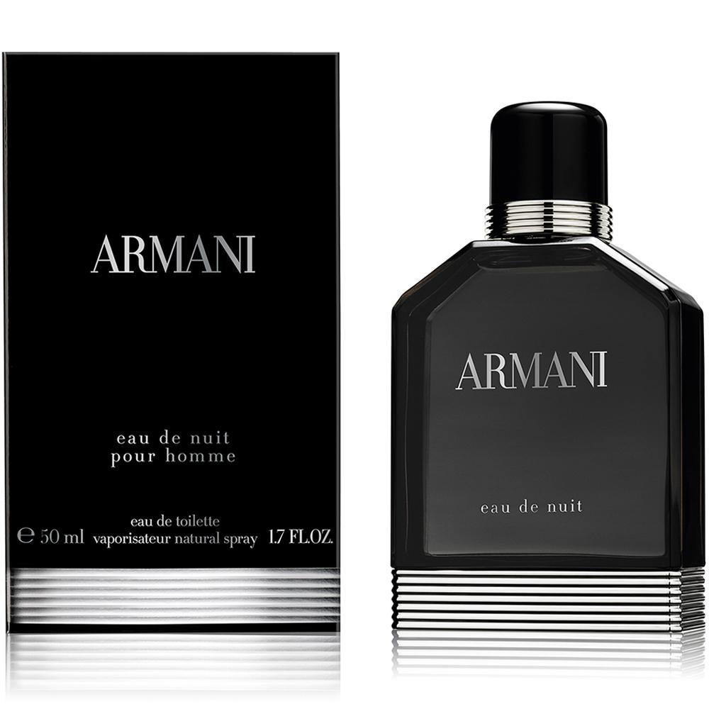 Armani Eau De Nuit Uomo edt vapo 50 ml
