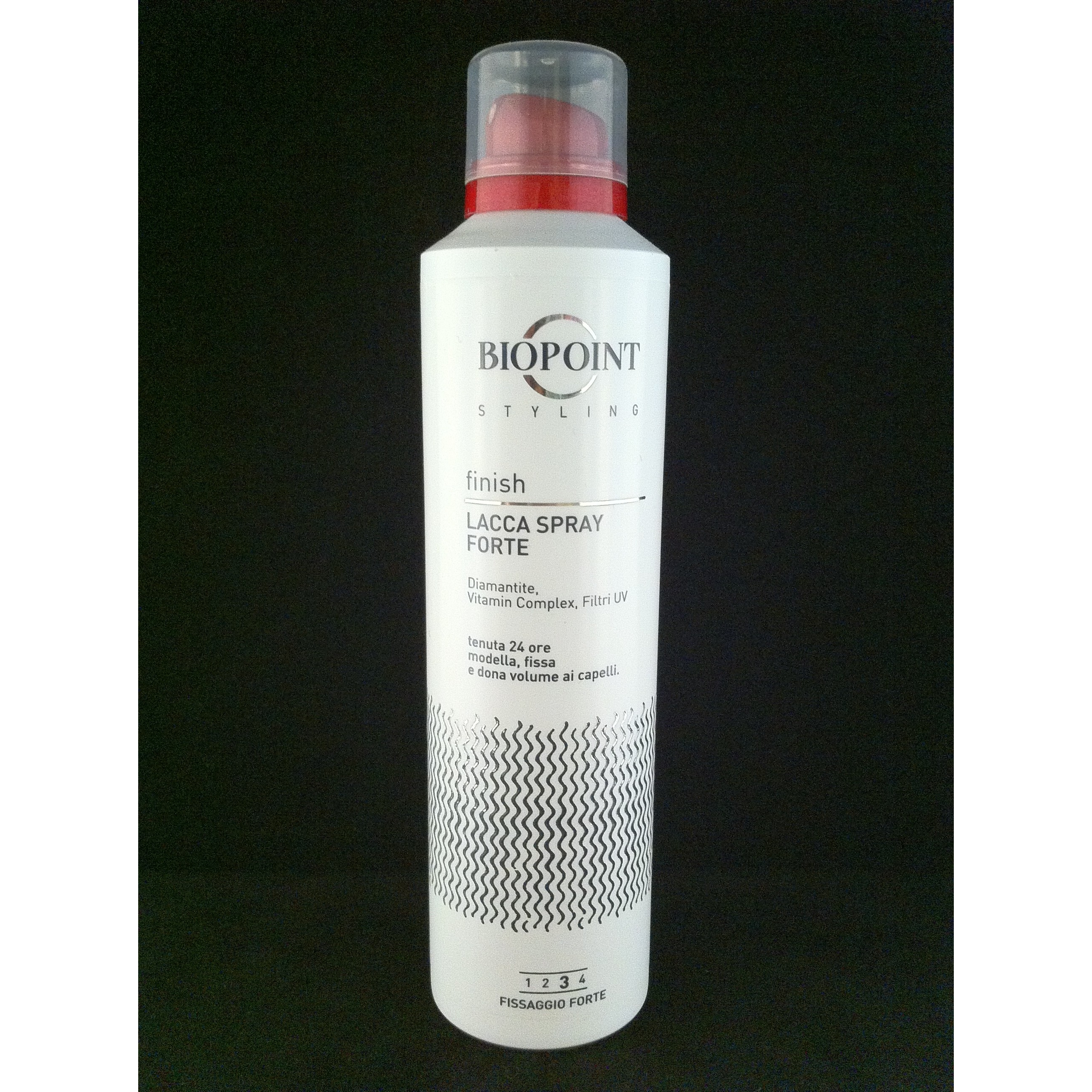 Biopoint Styling Finish lacca spray fissante forte no gas 200 ml
