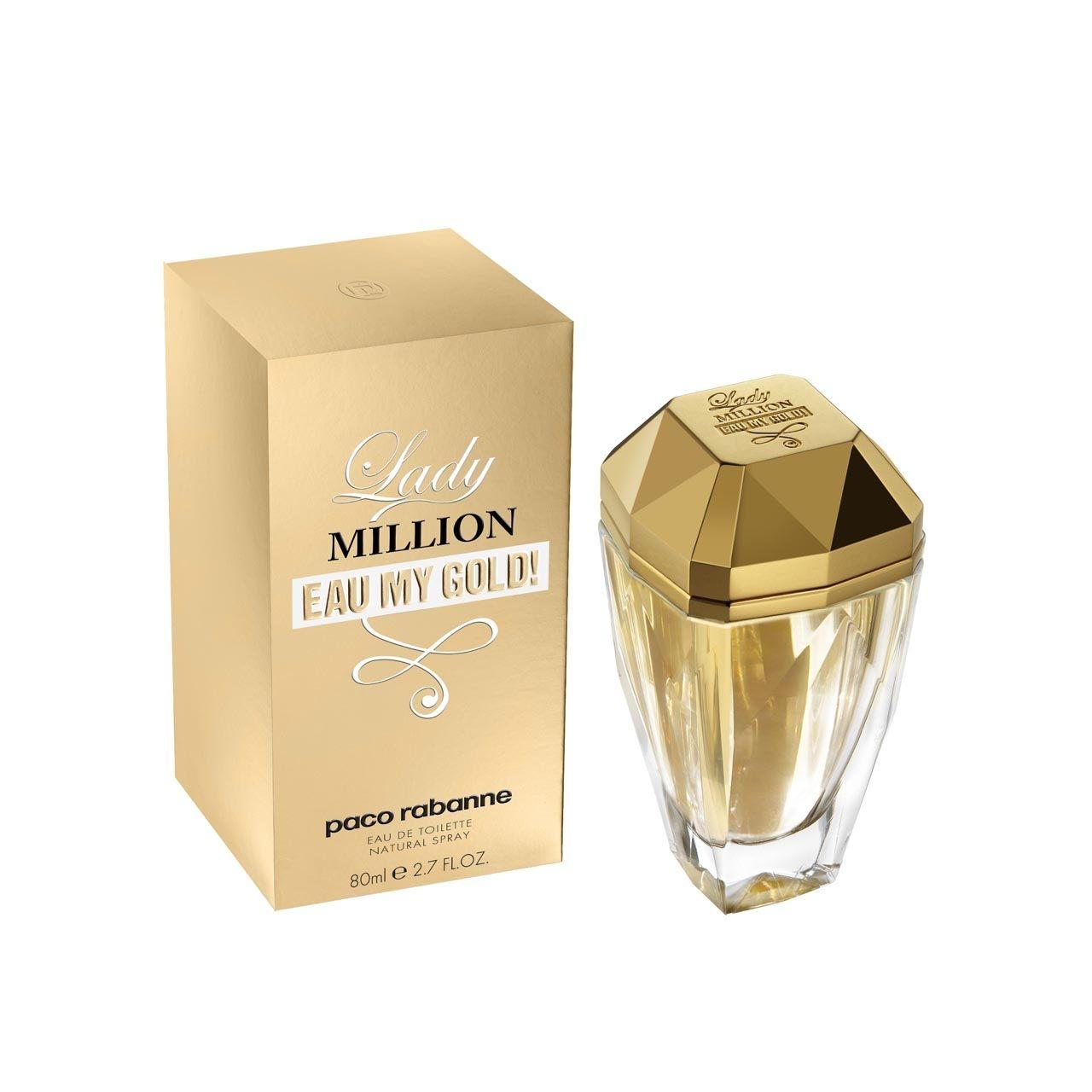 Paco Rabanne Lady Million Eau My Gold eau de toilette 80 ml