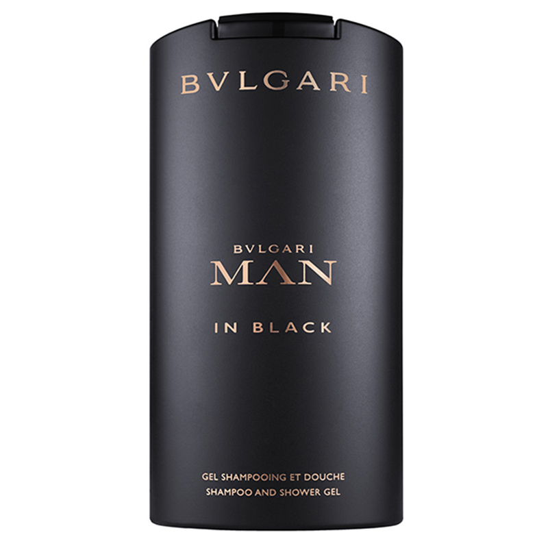 Bulgari Man in Black gel doccia shampoo 200 ml